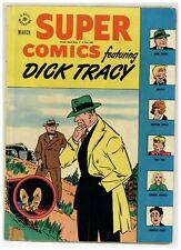 Super Comics 106 Dick Tracy Little Orphan Annie Golden Age 1947 Dell (j#2117)