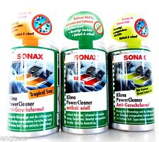 61,09 €/L 3x SONAX KLIMA POWER CLEANER ANTIBAKTERIELL + ANTI-GERUCHSFORMEL