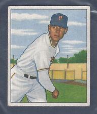 1950 Bowman #171 Harry Gumbert Pitcher Pittsburgh Pirates EX Plus to EX-MT