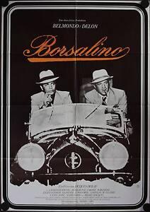 Borsalino Filmposter A1 Alain Delon Belmondo Catherine Rouvel Corinne Marchand