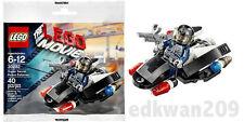 lego THE MOVIE promo pack SUPER SECRET POLICE ENFORCER #30282 bagged