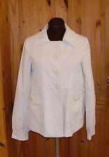 CENTIGRADE cream off-white corduroy chord cord jacket coat M 10-12 38-40