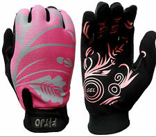 PK LADIES TOP QUALITY WINTER CYCLING WALKING HIKING WARM FULL FINGER GLOVES
