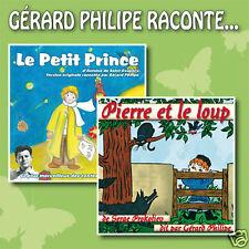 CD Le Petit Prince & Pierre et le loup / Gérard Philipe