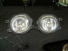 ROVER 45 75 25 MGF  TF FRONT FOG LIGHT X 2 PAIR FOG LAMPS COMPLETE WITH WIRE