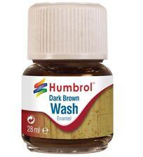 Humbrol Enamel Wash Dark Brown