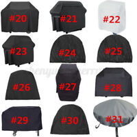 31 Types BBQ Cover Gril Barbeque Kettle Protector For Weber Dust Waterproof >