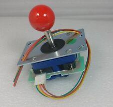 Japan Seimitsu Joystick Red Top Ball With 5 Pin Harness Arcade Parts LS-32-10