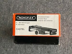 Novoflex Einstellschlitten Castel – Top Zustand, in OVP