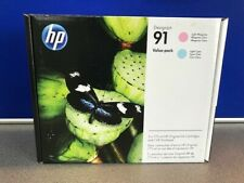 HP 91 Printhead & Ink Value Pack - P2V37A - New Original Sealed Expiry Feb 2019
