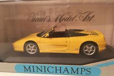 Minichamps 430074031 Ferrari F 355 Spider 1994 gelb yellow  1:43 Neu in OVP