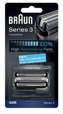 Braun Series 3 32B Cassette Foil & Cutter Pack Replacement Head Shaver