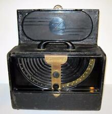 "VINTAGE ZENITH PORTABLE AM TUBE RADIO ""BATTERY & ELECTRIC"""
