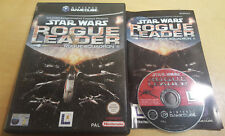 STAR WARS ROGUE leader ROGUE SQUADRON II 2 per NINTENDO GAMECUBE & Wii COMPLETO