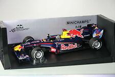Red Bull RB6 Vettel 110100205 Brazil GP 2010 Minichamps  1:18 NEU OVP