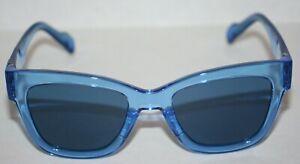 Adidas X Italia Independent AOG002 Sunglasses Blue New w/Carry Bag & Cloth