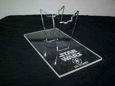 1 x Acrylic Display Stand for the Star Wars Rogue One Tie Striker Fighter Hasbro