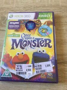 Sesame Street: Once Upon a Monster -  Microsoft Xbox 360 Kinect Game
