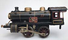 Juguete tren chapa locomotora pista 0 locomotora tren de vapor Kraus Fandor ~ 1930