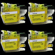 4 Compatible LC3219 (LC3217) Y XL inks for Brother J6935DW J5330DW  J5335DW