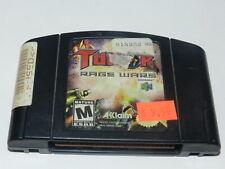Turok Rage Wars Nintendo 64 N64 Video Game Cart