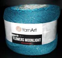 SKEIN/CAKE OF YARNART FLOWERS MOONLIGHT COTTON GLITTER YARN - COLOR #3289 MULTI
