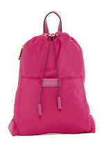 Marc Jacobs Active LARGE Nylon Drawstring Backpack Bag Magenta Pink NWT $195