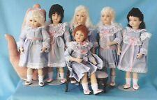 "6"" Antique Reproduction doll molds by Doreen Sinnett"