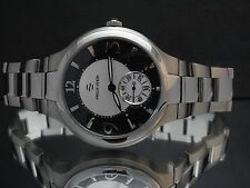 Philip Stein Signature Novelties 43MBSS Black & Silver Dial Stainless Mens Watch
