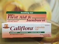 Boericke & Tafel Califlora, Calendula Gel, Topical Gel First Aid And Sunburn VI