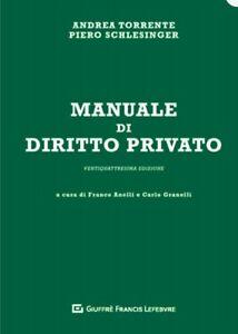 Torrente diritto privato 24 esima Ed 2019 *LEGGI BENE LA DESCRIZIONE *
