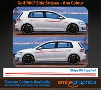 VW GOlf MK7 Stripe Kit Stickers decals - Other colours available