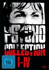 PSYCHO : THE MOVIE COLLECTION I - IV (4 movies)  -  DVD - PAL Region 2 - New
