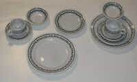 2 VINTAGE UNUSED BUFFALO CHINA PLACE SETTINGS! RESTAURANWARE! PLATES/CUPS/SAUCER