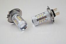 Si adatta AUDI A3 8P Set di 2x H7 CREE 16 led dei fari lampadine fendinebbia migliore qualità