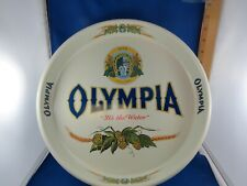 Olympia Brewing 13 Inch Serving Tray Olympia Beer - It's The Water