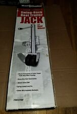 HAUL MASTER 1,500 LB. SWING-BACK BOAT TRAILER JACK W/DUAL WHEEL