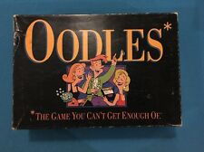 """1992 Oodles Board Game Milton Bradley """"The Game You Cant Get Enough Of"""""""