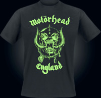 Motorhead England Leucht T-Shirt Ltd. Edition 72 h Glow in the Dark Size XXL NEU