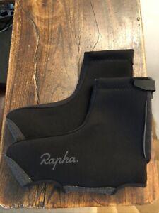 Rapha Black Neoprene Overshoes, Booties, Large