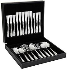 Viners Pearl 44 Piece Stainless Steel Cutlery Set in Wooden Canteen