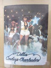 Vintage Hot Girl Cowboys Cheerleaders Model Poster 1970's Inv#G819