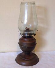 ANTIQUE KEROSENE LAMP -MADE IN USA-EAGLE