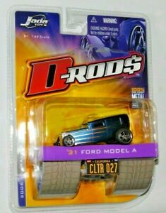 JADA TOYS D-RODS 1931 FORD MODEL A COLLECTOR #27