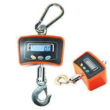 Crane Digital 500 KG / 1100 LBS Scale Hook Hanging Industrial Weight LCD Display