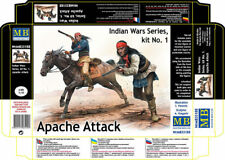 Master Box 35188 1:35th escala guerras indias Serie, Apache ataque