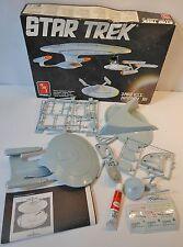 AMT ERTL STAR TREK 3 pc U.S.S. ENTERPRICE SET Model Kit 1/2500 VINTAGE 1988