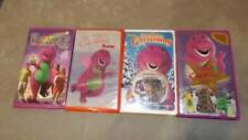 Barney Lot 4 VHS Videos Great Adventure Night Before Christmas Star Valentine