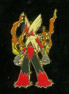 Pokemon MEGA BLAZIKEN - COLLECTOR'S PIN (Release date: January 2016) - NEW