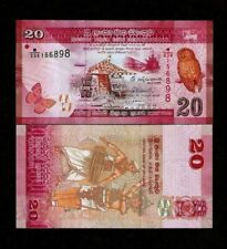 Sri Lanka 20 Rupees P-123 Banknotes UNC